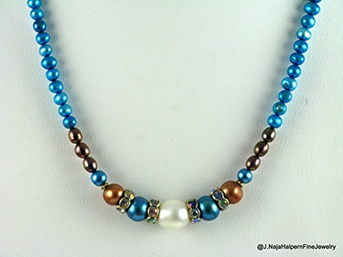 genuine-freshwater-pearls-in-bright-turquoise-blue-with-large-white-pearl-center-and-sterling-clasp