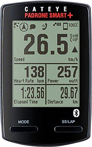 CAT EYE CatEye Padrone Smart Plus Wireless Bike Computer, Triple