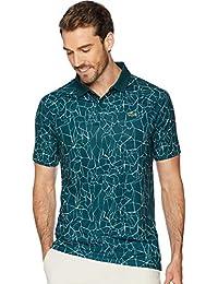 Men's Novak Short Sleeve Ultra Dry Net Print Polo