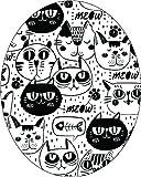 Freestyle Libre Adhesive Patch Precut Cat Design