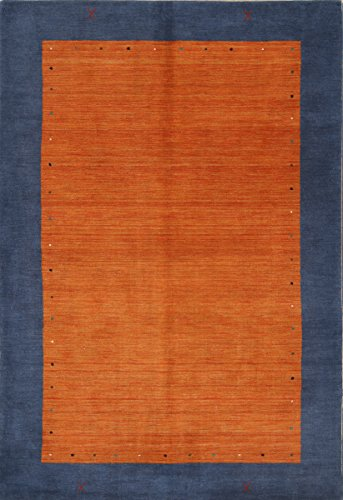 Rug Source New Gabbeh Contemporary Solid Hand-Knotted for sale  Delivered anywhere in Canada