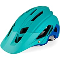 Casco de Bicicleta de Montaña, Ultraligero Transpirable Casco de Seguridad, Sombrero de Ciclismo, Moldeado Integral, Tamaño Ajustable, Profesional MTB Protector Solar Resistencia al Terremoto F692