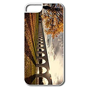 IPhone 5/5S Cases, Viaduct Autumn White Covers For IPhone 5 by Maris's Diary