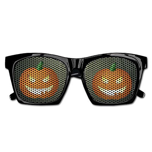 Happy Helloween Jack O Lantern Funny Mesh Lens Sunglasse Resin Frame Party Favors Fancy Favor 54x20x150MM (Halloween O Helloween)