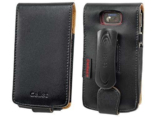 Cellet Executive Case for Samsung BlackJack II SGH-i617 - Black (Renewed)