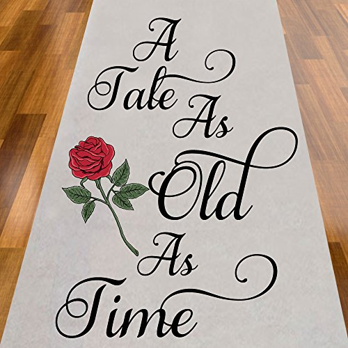 A Tale As Old As Time Rose Aisle Runner