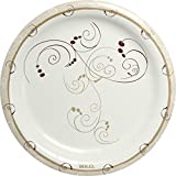 Solo HP9S-J8001 9 in Symphony Paper Plate, Heavy Weight (Case of 500)