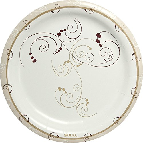 Solo HP9S-J8001 9 in Symphony Paper Plate, Heavy Weight (Case of 500) ()
