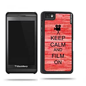 Keep Calm And Film On Red Wood Google Nexus 4 Case - For Nexus 4
