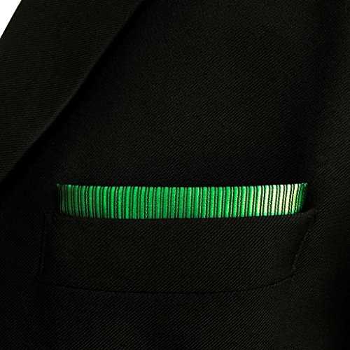 SHLAX&WING Solid Color Green Necktie for Men Business Wedding New Tie Set Long by S&W SHLAX&WING (Image #8)'