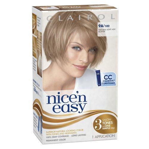 Clairol Nice 'N Easy Цвет волос 102 Естественный свет пепельный блондин 1 комплект (3 шт)