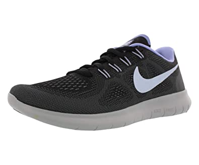 7ec68fe9a5aa2 Nike Womens Free Rn 2017 Fabric Low Top Lace Up Running Sneaker