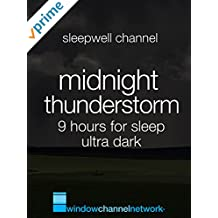Midnight Thunderstorm 9 hours for sleep ultra dark