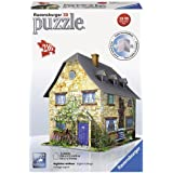 Ravensburger - Puzzle 3D English Cottage, 23 x 18 cm, 216 piezas (12585 2)