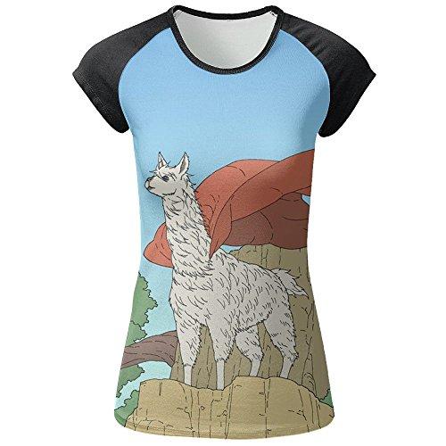 Dragonfly Mesh Candle Holder - Womens My Patronus Is A Llama Popular Raglan Short Sleeve T-Shirt Baseball Tee