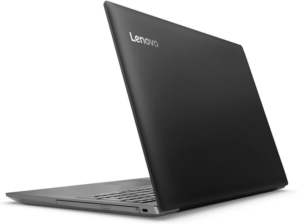 2018 Lenovo ideapad 320 15.6-inch Laptop, Intel Celeron Dual-Core N3350, 4GB RAM, 1TB Hard Drive, Bluetooth, Windows 10, Black