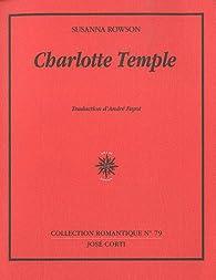 Charlotte Temple par Rowson