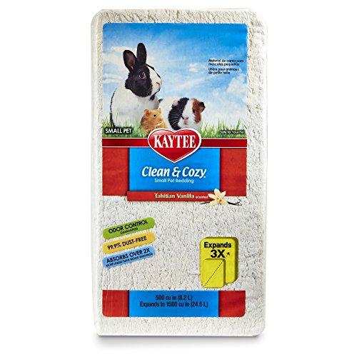 - Kaytee Clean & Cozy Tahitian Vanilla Bedding, 500 Cubic Inch