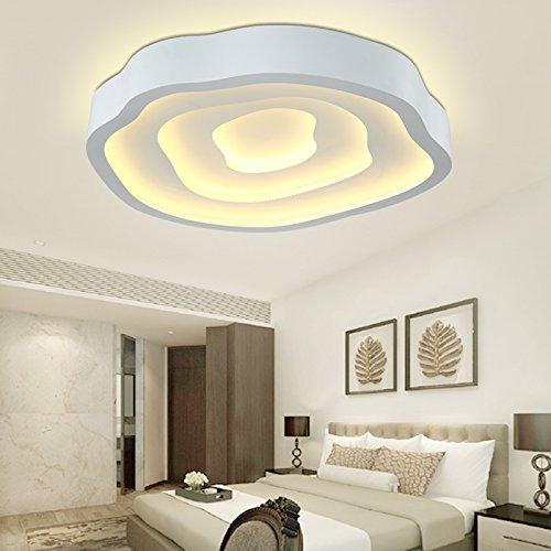 BLYC  Schlichte Und Moderne Persönlichkeit Führte Decke Licht Romantisches Schlafzimmer  Lampe Kleines Wohnzimmer Licht Kunst Licht 520 * 469 * 80 Mm ...