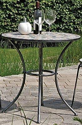 Mesa de jardín Rijeka, mosaico muebles en estilo mediterráneo ...