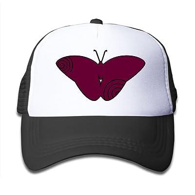 BKids AccE-Hat Kids Baseball Cap Hat Mesh Caps Sun Visor Adjustable- Butterfly Patterns