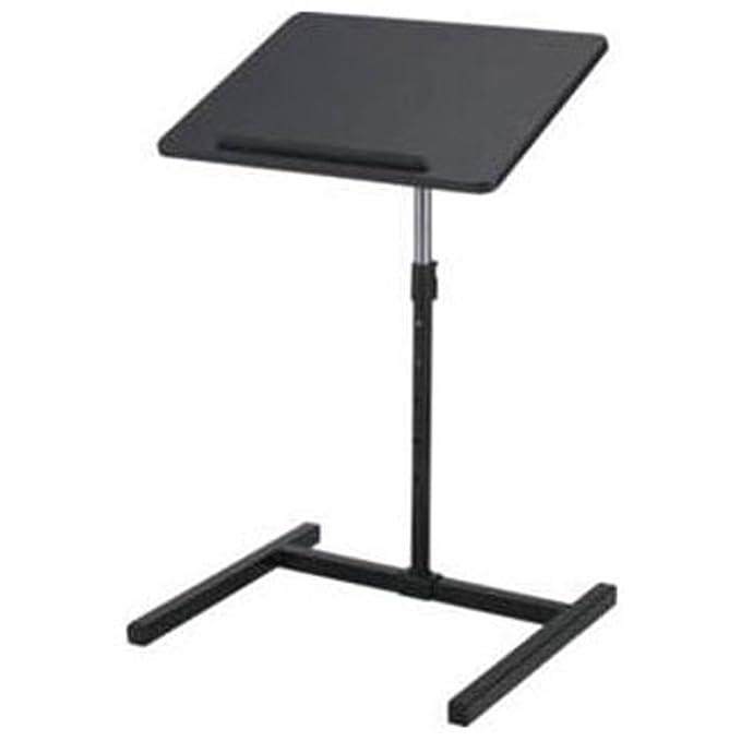 Mesa Negra genérica de Metal Ajustable para Ordenador portátil o ...