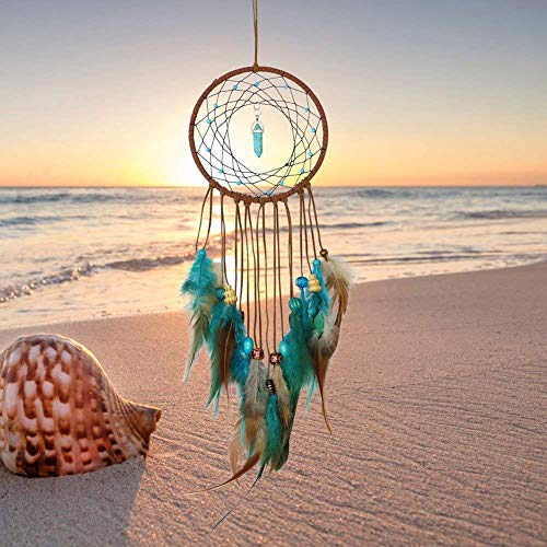 - JIDSFIE Boho Handmade Dream Catcher Feathers Decoration for Wedding Party Favor,Nursery Decor,Baby Shower,Birthday Gift,Bedroom Wall Ornaments Car Hanging Decoration
