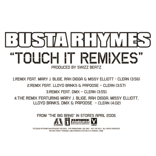 Its Banks (Touch It (Remix/Featuring Lloyd Banks & Papoose (Edited)) [feat. Lloyd Banks & Papoose] [Clean])