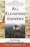 All Elevations Unknown, Sam Lightner, 0767907752
