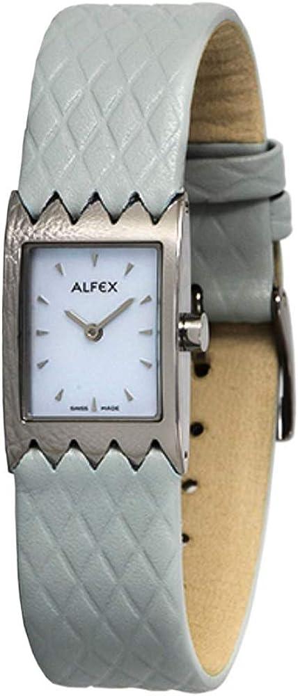 Alfex 5467 - Pulsera de Cuarzo analógico para Mujer con Correa de Piel