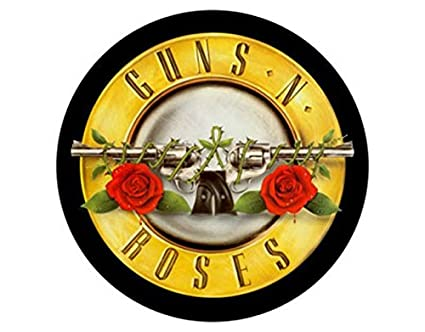 Amazon Guns N Roses Logo Circular Back Patch Free Shipping