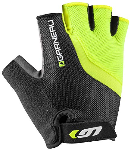 (Louis Garneau Men's Biogel RX-V Bike Gloves, Bright Yellow, XX-Large)