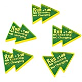 AoS: Run Tokens, Fluorescent Yellow (5)