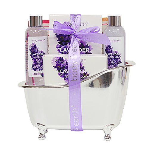 Basket Lavender Scented Shower Bubble