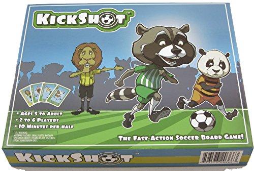 Soccer Dice Game (KickShot Soccer Board Game)
