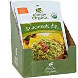 Simply Organic, Guacamole Dip Mix, 12 Packets, 0.8 oz (Pack of 2)