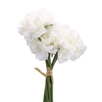 Ramo de Flores Artificiales Lnlyin para Bodas, centros de Mesa ...