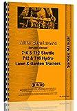Allis Chalmers 712S Lawn & Garden Tractor Service Manual
