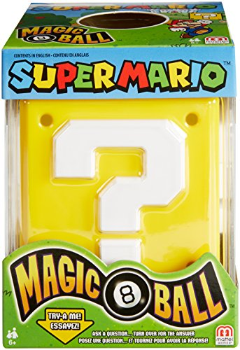(Mattel Games Magic 8 Super Mario)