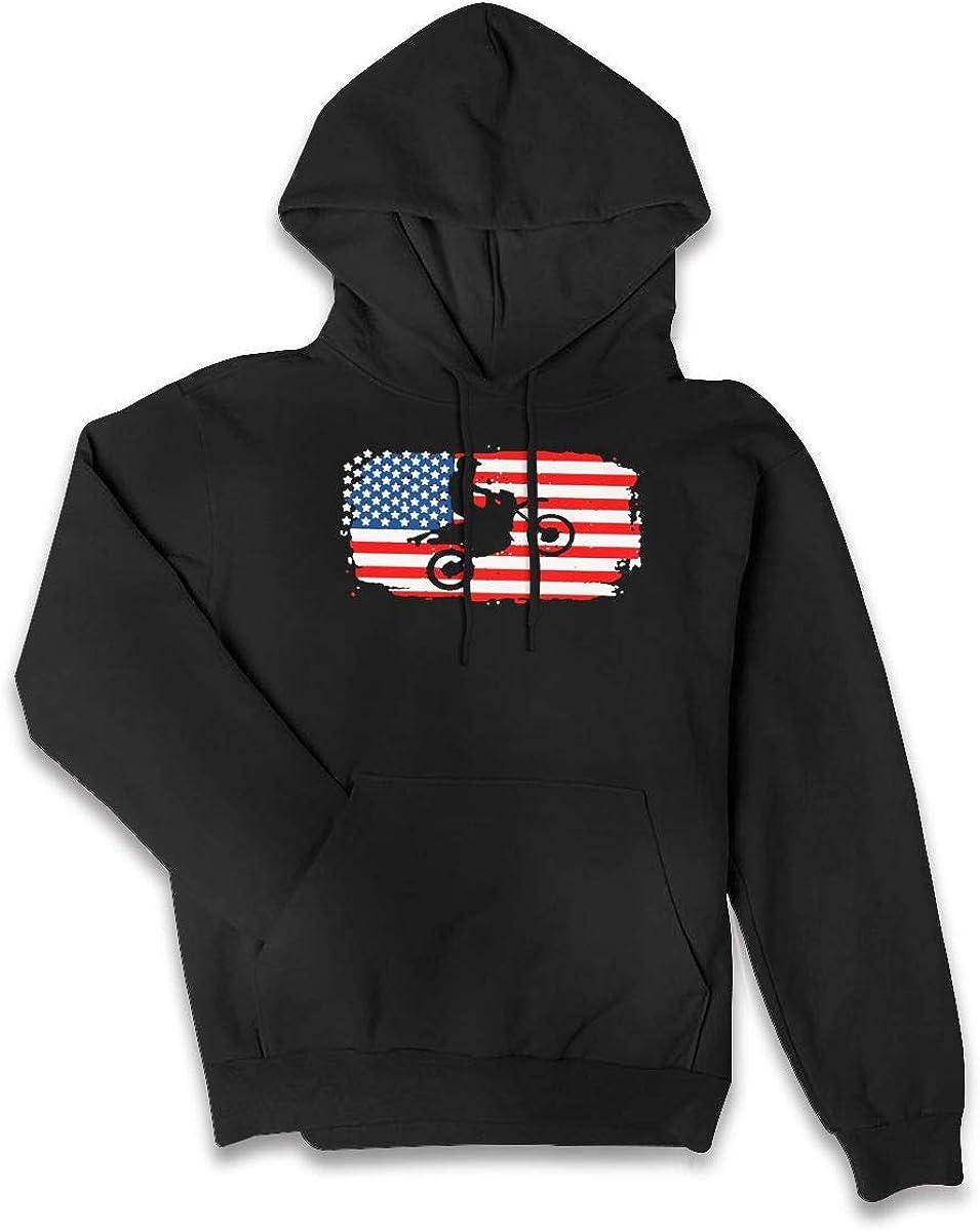 SWEF472 Brraaap Dirt Bike Motocross Women Jacket Sweater Pocket Hoodie Coats