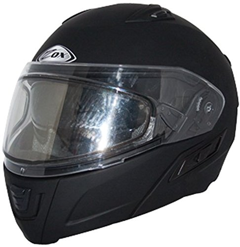 Zox Condor SVS Modular Snow Helmet Gloss Black Double Lens (XS) (Zox Xs Gloss)