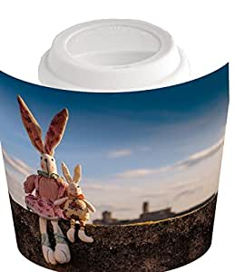 Coffee cup with Rabbit, Animals, Pet, Children Toys