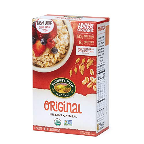 Nature's Path Original Instant Oats, Healthy, Organic & Sugar Free, 14 Ounces (Pack of - Original Oatmeal