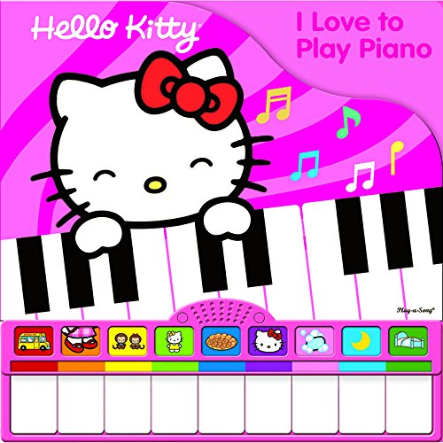 PUBLICATIONS INTERNATIONAL, LTD PIANO BOOK MINI DELUXE HELLO KITTY (Set of 3)