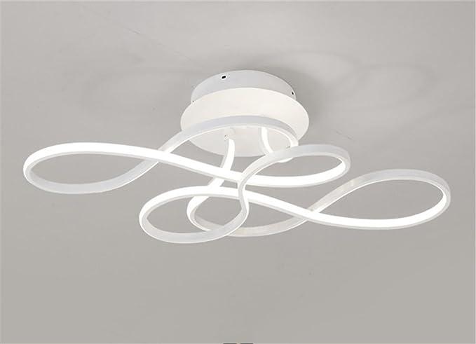 Lampada da soffitto a led postmoderna luci del salone camera da
