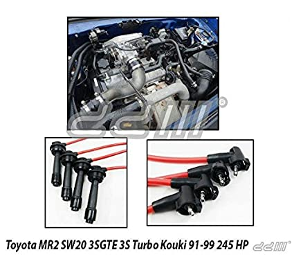 TOYOTA MR2 TURBO 3SGTE KOUKI 3S 95-99 Ignition Lead Spark Plug Wire Cable