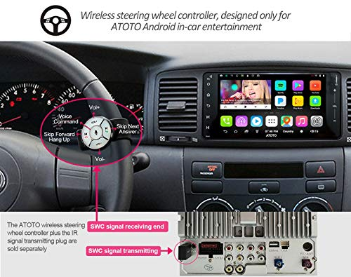 ATOTO A6 Android Car Navigation Stereo w / 2xBluetooth for