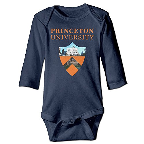 [Missone Babys Princeton University Long Sleeve Bodysuit Baby Onesie] (Out Of Your League Costumes)