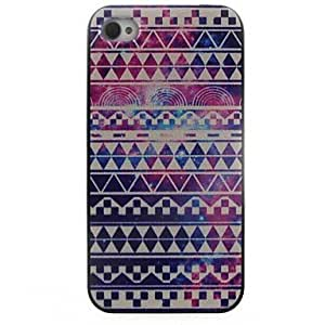 LCJ Blue Ethnic Pattern Hard Case for iPhone 5/5S
