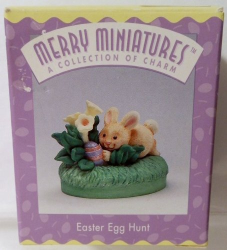 Hallmark Merry Miniatures Easter Egg Hunt